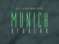 Munich Regular - V2.031