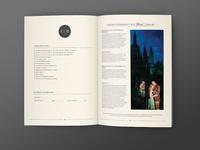 Caroline + Ben Photography Booklet