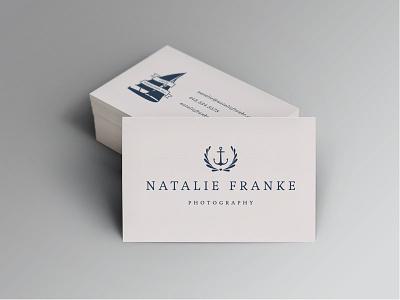 Natalie Franke Photography branding braizen photography maritime nautical anchor