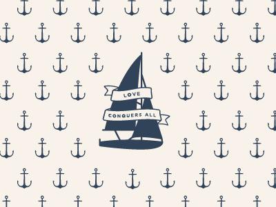 Natalie Franke Photography branding braizen photography maritime banner nautical anchor