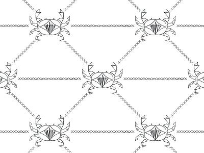 Dribble Cancer astrology design juku pattern illustration zodiac cancer