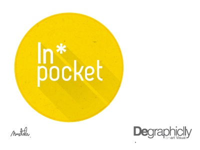 """Smart Art """"Degraphiclly""""  """"In pocket app"""" flat ui long shadow degraphiclly"""