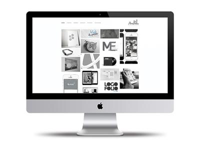 personal website ui ux web design