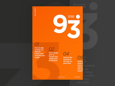 5 of 100 poster webdesign web ui typography swiss space positive design color beautiful 2017