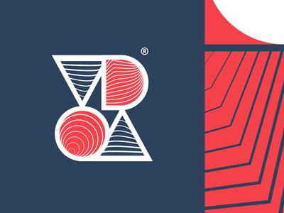 V D O A  Logo branding brand tags monogram dating icon typography symbol mark logo identity
