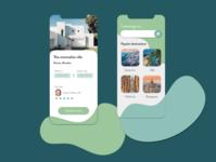 Travel App Concept design