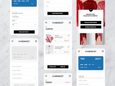 Credit Card Checkout / #DailyUI adobexd dailyui mobile ui ux design