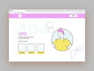 404 page #DailyUI 404page illustration drawkit figmadesign figma design dailyui