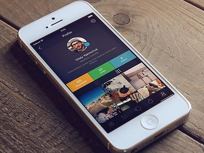 app profile  profile app ios iphone photo icon