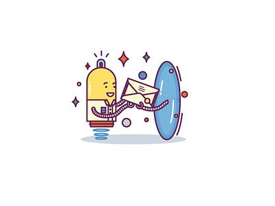 Invitation Email illustration emotions iconfinder mail doodle cut smile icons