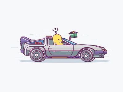 Whroom whroom illustration emotions iconfinder doodle cut back to future delorean smile icons