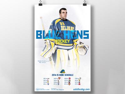 UofD Hockey Poster