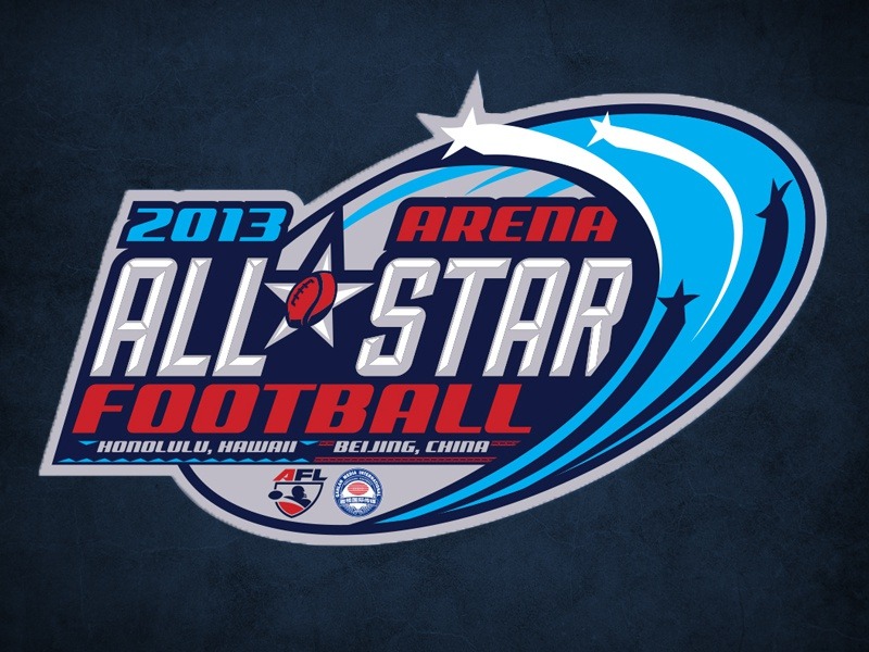 AFL All-Star Logo sports logo all-star football afl