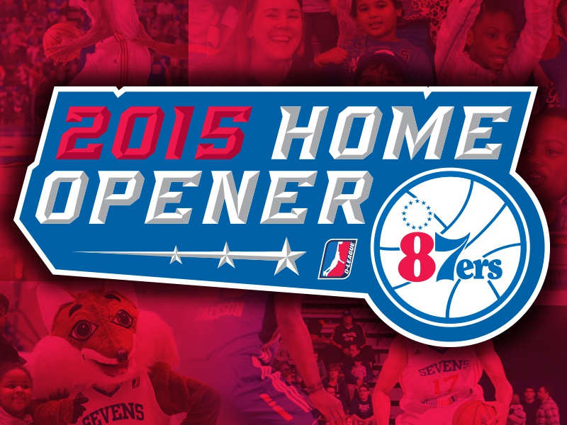 87ers Home Opener basketball logo sports