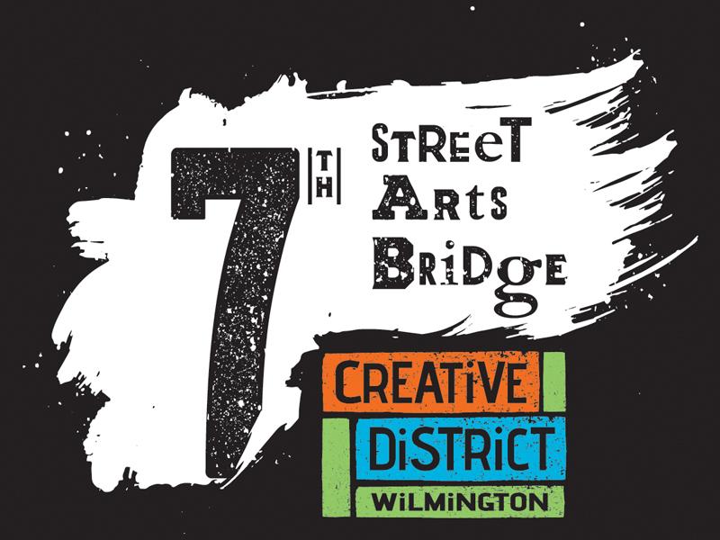 7th Street Arts Bridge location delaware logo