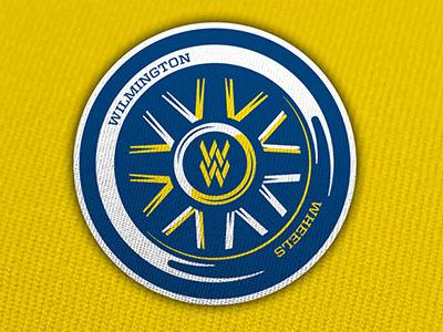 Wilmington Wheels Concept #1 mens league concept branding concept branding design branding sports branding design hockey logo sports