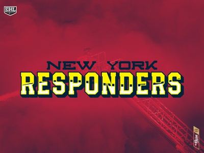 New York Responders - Typography