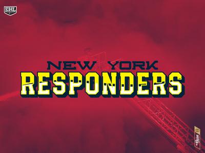 New York Responders - Typography