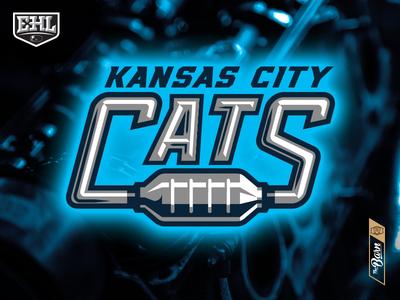 Kansas City Cats - Text Design