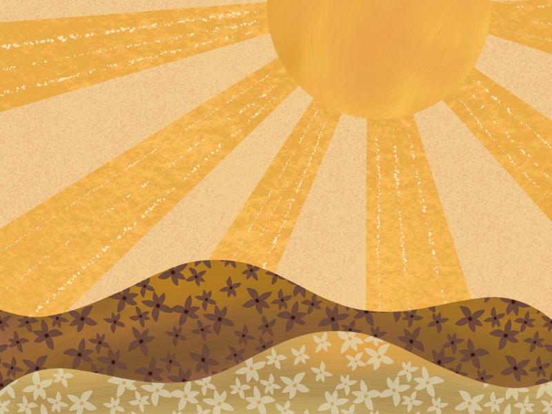 Summer Days procreate design photoshop art photoshop vector illustration digital art
