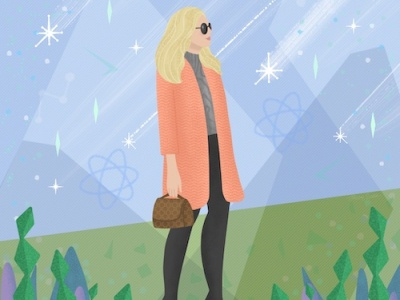 Seasonal Chic vector feminine character photoshop fashion photoshop art procreate drawing digital art illustration