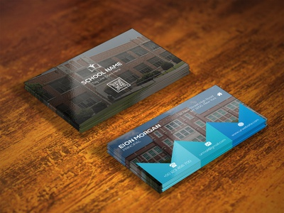 SCHOOL BUSINESS CARD