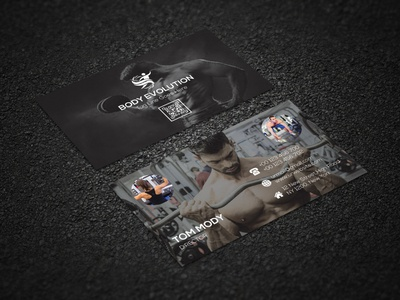 SPORTS/GYM BUSINESS CARD
