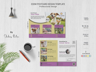 PET POSTCARD DESIGN