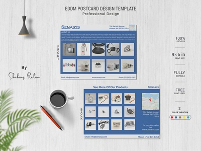 PRODUCT POSTCARD DESIGN