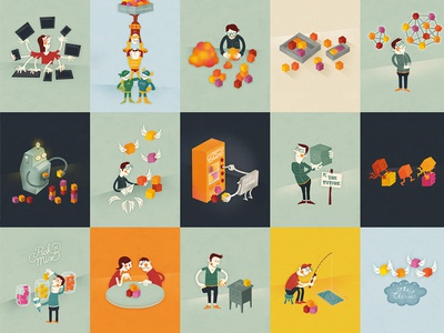 Content Everywhere illustrations illustrations