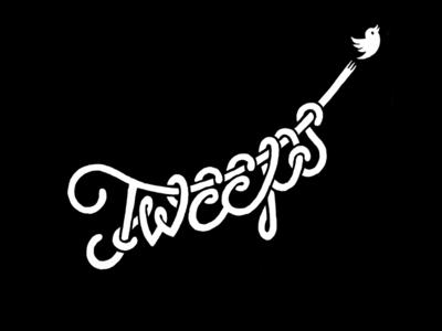 Tweeps lettering