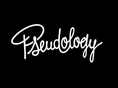 Pseudology lettering