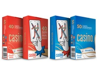 Casino Cards Packaging