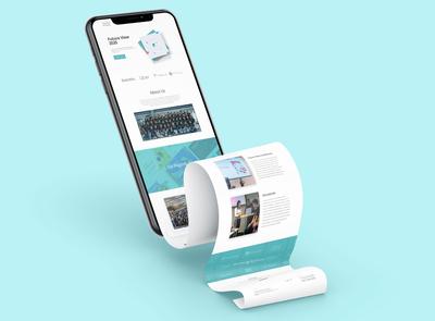 Website 3D Mockup