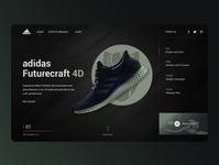Adidas Futurecraft Web Design