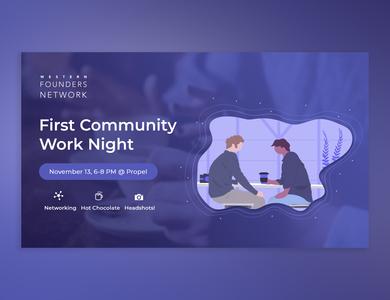 Facebook Tech Event Banner