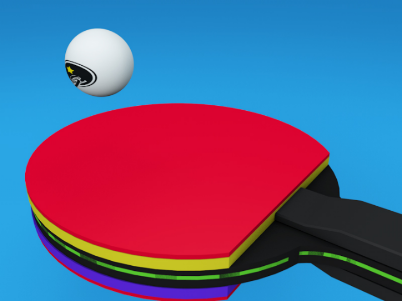 Tennis ball egg sport court bat tennis