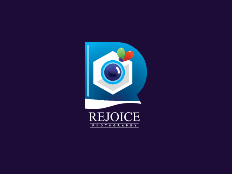 Rejoice logodesigners logodesign art photographer package designers photography design branding illustration logos logo