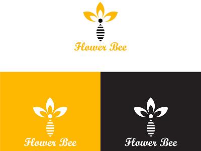 Bee logo design branding minimal illustration graphic design art logo illustrator icon flat