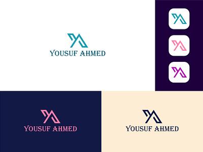 Name logo design branding flat vector illustrator brand identity typography logo icon minimal graphic design branding