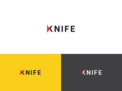 Creative Knife logo design art brand identity logodesign graphic design vector illustrator flat minimal logo branding