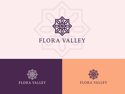 Flora Minimalist logo vector logodesign flat icon minimal brand identity illustrator branding logo graphic design