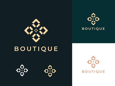 Luxury Boutique Icon Logo Design craft art attractive professional brand identity logo maker abstract creative logo icon logo unique logo logo design graphic design logo illustration design illustrator icon flat minimal branding
