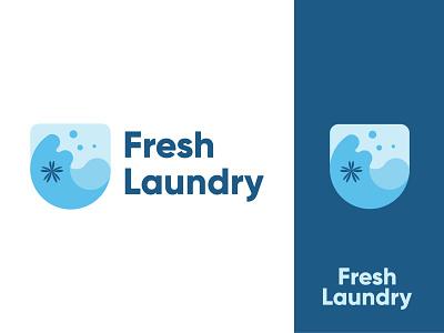 Laundry Logo graphic designer logo maker logo designer clean logo icon logo modern creative minimalist logo brand identity logodesign laundry logo illustration design illustrator icon flat minimal logo graphic design branding