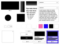 Design System Presentation Components 01