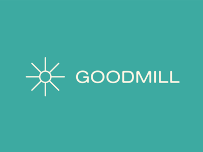 Goodmill logotype /