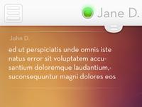 Chat Client UI