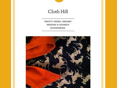 Cloth Hill fashion logo illustrator