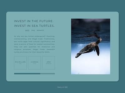 Daily UI 032 - Crowdfunding