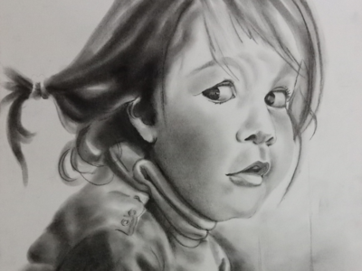 Murphy baby in charcoal